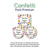 Pack Premium Ropa, Zapatos y Escuela Confetti