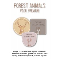 Pack Premium Ropa, Zapatos y Escuela Forest Animals
