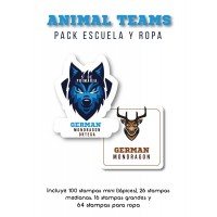 Pack Clothes & School Animal Teams