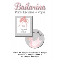 Pack Clothes & School Bailarina