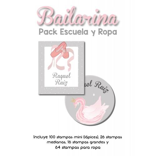 Pack Clothes & School Bailarina