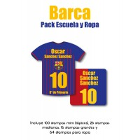 Pack Clothes & School Barca