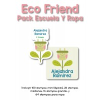 Pack Clothes & School Eco Friend