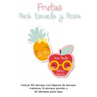 Pack Clothes & School Frutas