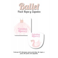 Pack Clothes & Shoes Ballet