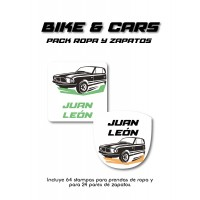 Pack Clothes & Shoes Bike and Car