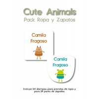 Pack Clothes & Shoes Cute Animals