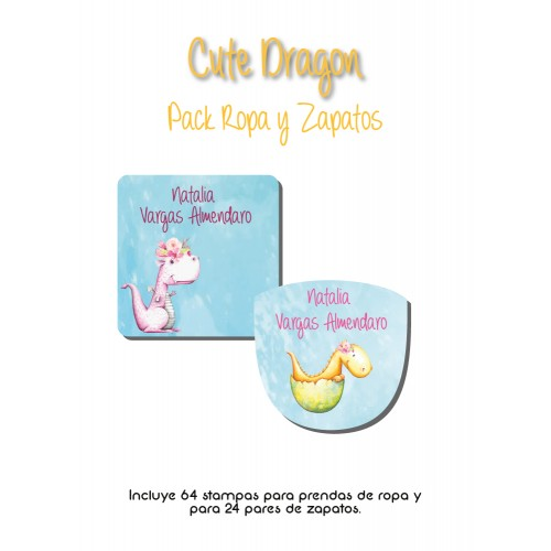Pack Clothes & Shoes Cute Dragon