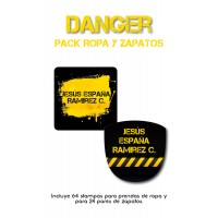 Pack Clothes & Shoes Danger