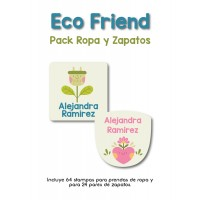 Pack Clothes & Shoes Eco Friend