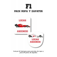 Pack Clothes & Shoes F1