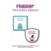 Pack Clothes & Shoes Flubber