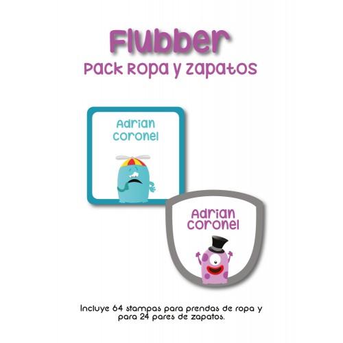 Pack Clothes & Shoes Flubber