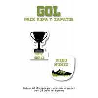 Pack Clothes & Shoes Gol