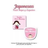 Pack Clothes & Shoes Japonesas