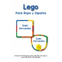 Pack Clothes & Shoes Lego
