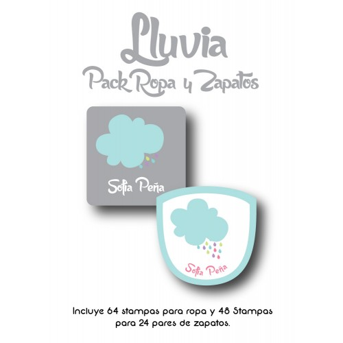 Pack Clothes & Shoes Lluvia