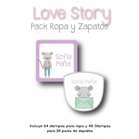 Pack Clothes & Shoes Love Story