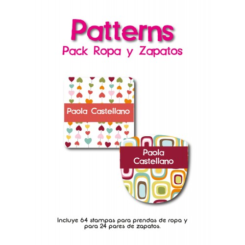 Pack Clothes & Shoes Patterns