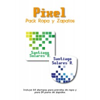 Pack Clothes & Shoes Pixel