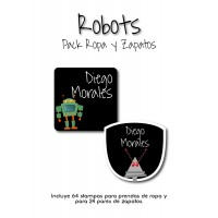 Pack Clothes & Shoes Robots