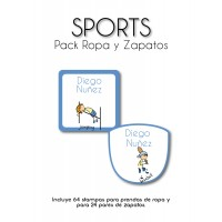 Pack Clothes & Shoes Sport
