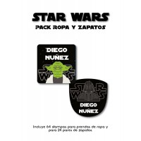 Pack Clothes & Shoes Star Wars