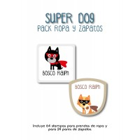 Pack Clothes & Shoes Super Dog