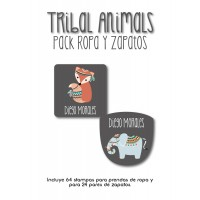 Pack Clothes & Shoes Tribal Animals