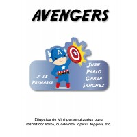 Pack Clothes & School Avengers