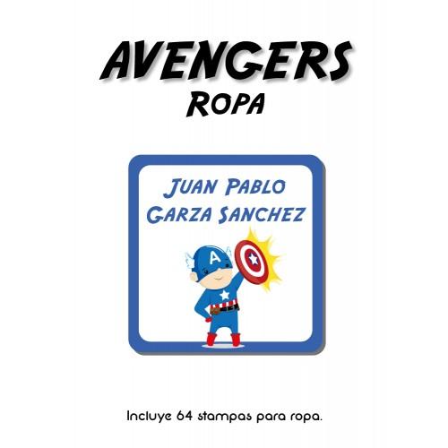 Ropa Avengers