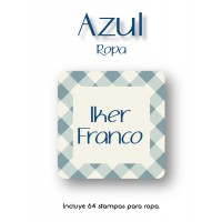 Pack Clothes & Shoes Azul