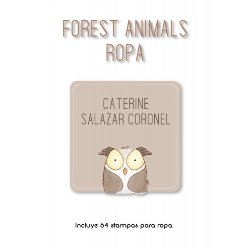 Ropa Forest Animals