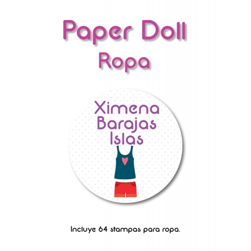 Ropa Paper Doll