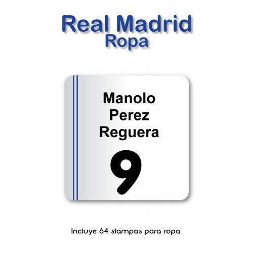 Pack Clothes & Shoes Real Madrid