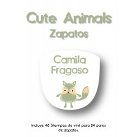 Zapato Cute Animals