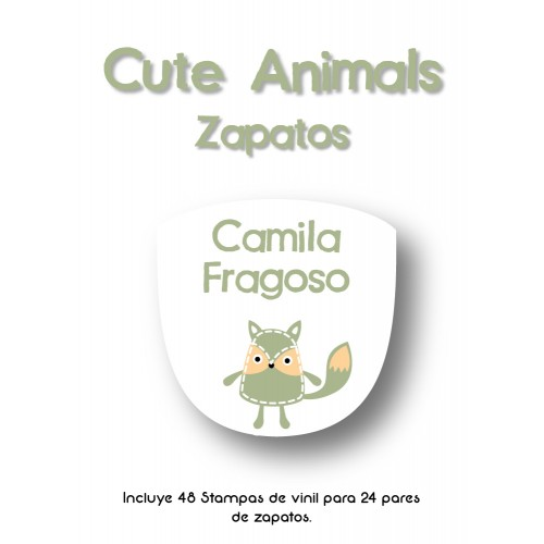 Zapato Cute Animals