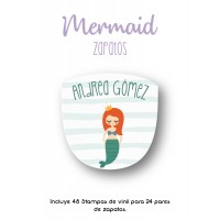 Zapato Mermaid