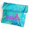 Bolsa Lunch Sirena Azul